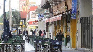 El tarifazo dejó al borde del abismo a locales tradicionales de avenida Pellegrini y Pichincha
