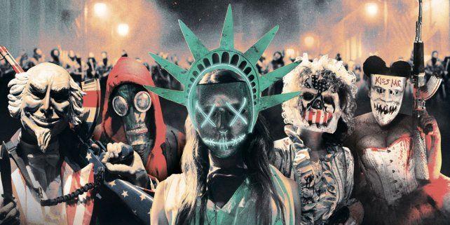 Liberados. La trama del filme que se estrena mañana coincidió con la campaña por la presidencia en Estados Unidos.