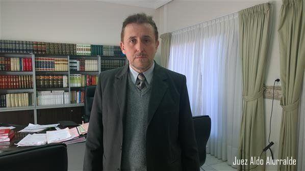 Bajo la mira. El juez federal de Reconquista Aldo Mario Alurralde.