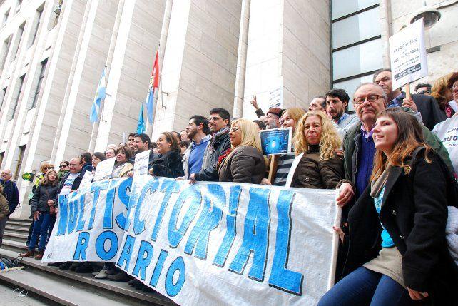 Pootesta. La multisectorial de Rosario se concentrará en el microcentro.