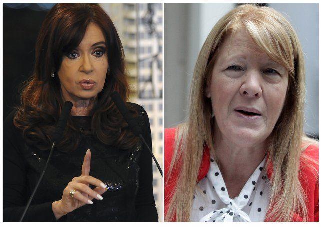 Cara a cara. Cristina y Margarita fueron citadas para agosto.
