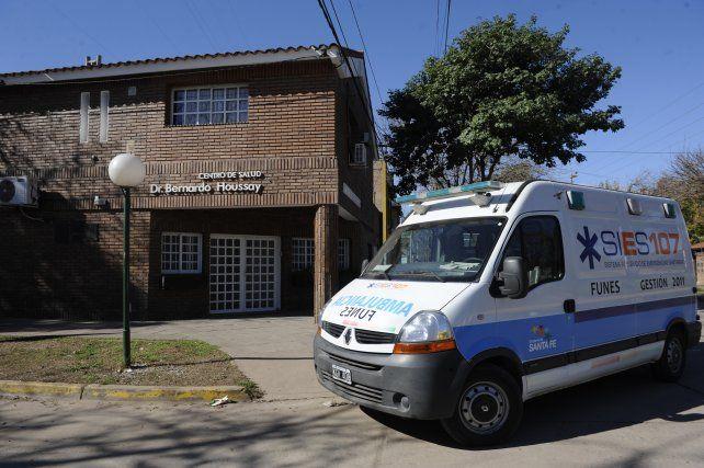 El Centro de Salud Bernardo Houssay de Funes.