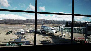 El aeropuerto internacional de San Carlos de Bariloche Luis Candelaria
