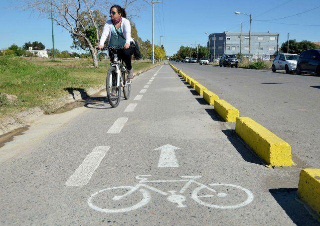 La ciclovía unirá ambas ciudades a lo largo de 2 kilómetros.