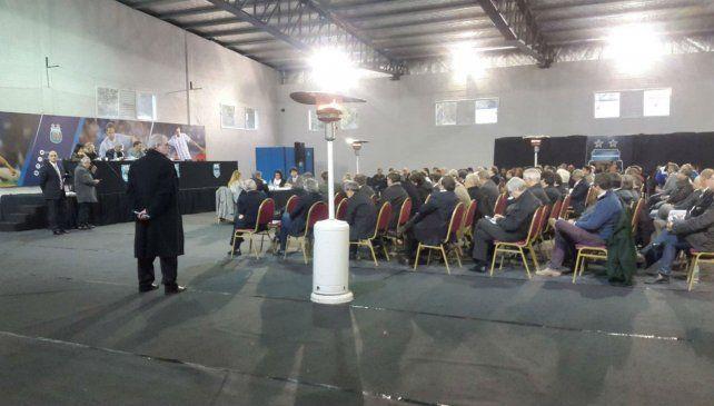 La asamblea extraordinaria que aprobó la creación de la Súperliga.