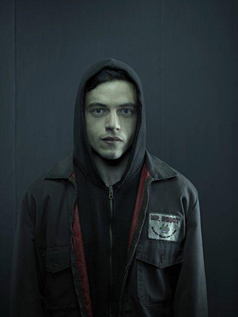 Hacker paranoico. Rami Malek es Elliot