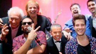 Oyarbide bailó al ritmo de los Wachiturros con el Bambino Veira, Cóppola y Caruso
