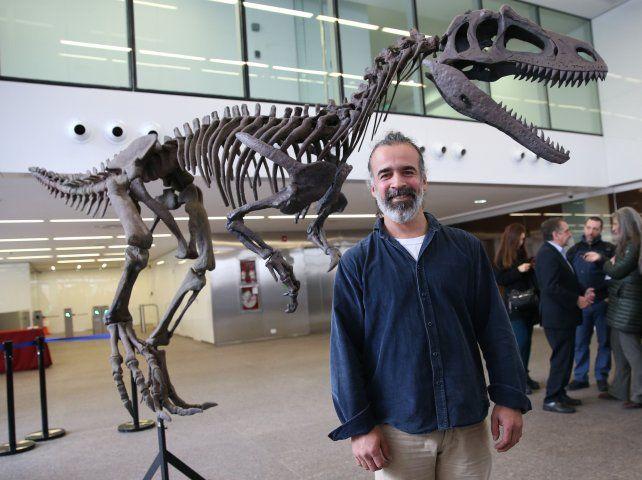 Gualicho. El animal medía seis metros de largo.