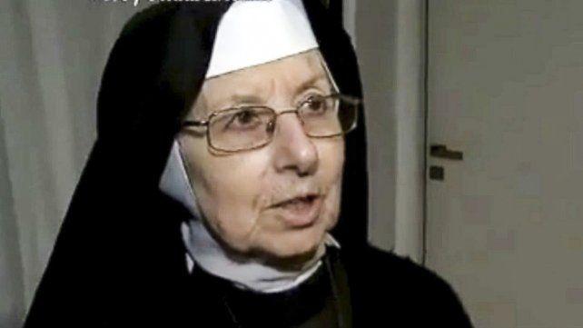 Complicada. La Hermana Inés hizo entrar a López y sus bolsos con plata.