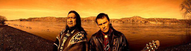 Convicción. Patagonia (izquierda) y Marciello se conocen desde hace 20 años.