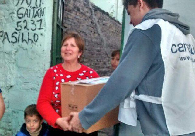 solidaridad. Una elogiable tareas de asistencia hacia los necesitados.