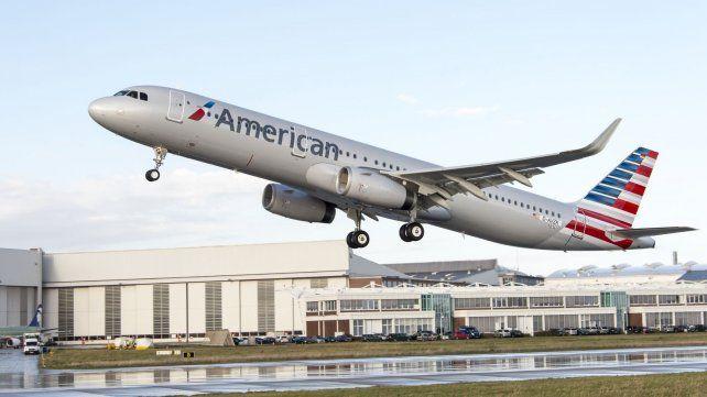 El vuelo de American Airlines partió de Miami hacia Ezeiza con más de una hora y media de atraso.