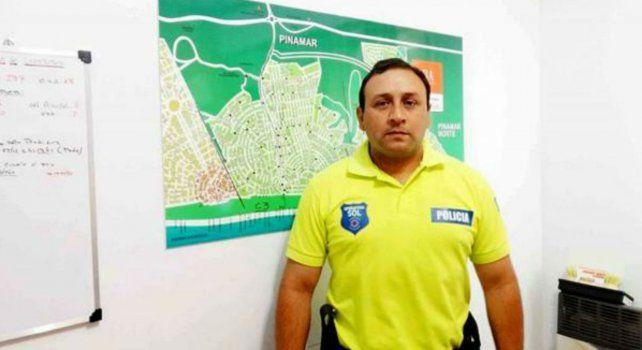 El desplazado comisario Gerardo Fabián Guiñazú