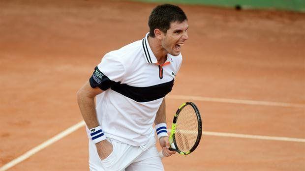 Federico Delbonis le ganó a Seppi y le dio el primer punto a la Argentina ante Italia en Copa Davis.