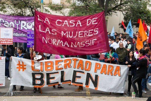 Una manifestación en Capital Federal