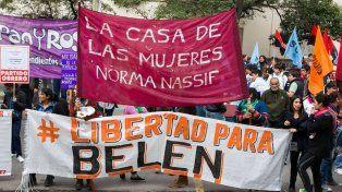 Una manifestación en Capital Federal, en mayo pasado, contra el encarcelamiento de una joven que abortó.