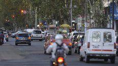 Extremo tránsito. Los andariveles especiales para el transporte buscan evitar el uso de automóviles particulares, como ocurre sobre San Martín.
