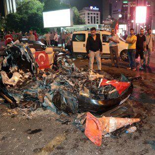 el intento de golpe de estado en turquia dejo un saldo de 265 muertos y mas de mil heridos