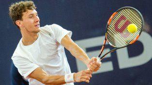 El tenista rosarino Renzo Olivo se quedó a un paso de la final del Abierto de Hamburgo