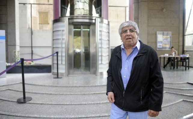 El secretario general de la CGT Azopardo