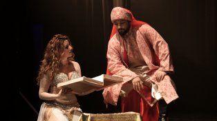 Oriente. La obra incluye folclore de Líbano