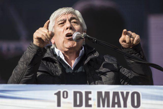 Advertencia. Moyano consideró que el gobierno de Macri toma muchas medidas por falta de experiencia.
