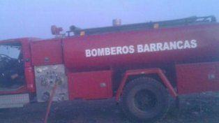 No volvieron. Los bomberos de Barrancas