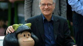 Quino cumple 84 años y los fanáticos saludan por las redes sociales al padre de Mafalda