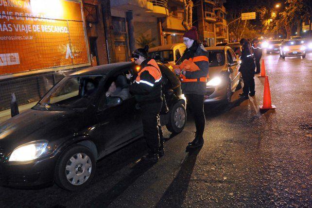 Los operativos son llevados por los agentes de Tránsito municipal.