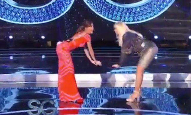 El sensual baile de la China Suárez junto a Susana Giménez, furor en las redes