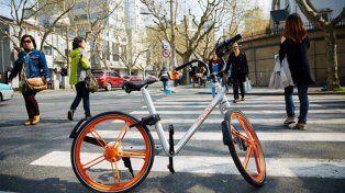 para poder usar la bicicleta se paga un depósito que luego es devuelto.