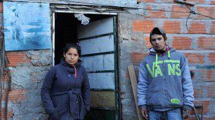 Su entorno cercano. Los familiares de Luján fueron los que movilizaron la búsqueda y quienes luego denunciaron que fue abusada.