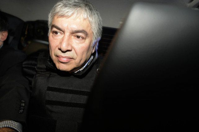 Atrapado. Báez está alojado en el penal de Ezeiza desde el 5 de abril.