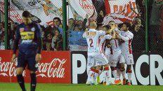 central cordoba cayo frente a huracan y quedo afuera de la copa argentina