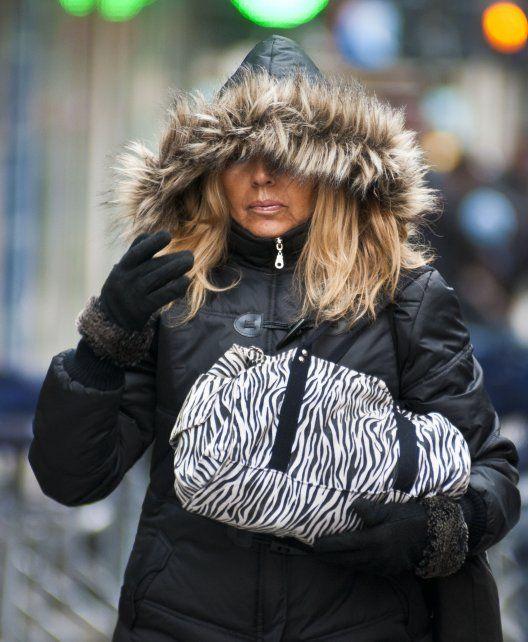 Habrá que tener a mano mucha ropa de abrigo porque se espera otro día con muy baja temperatura.