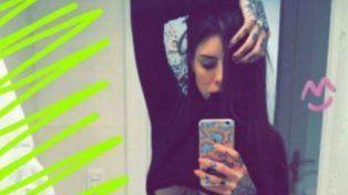 Candelaria Tinelli en Snapchat.