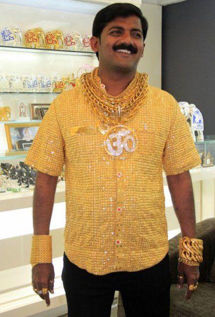 El triste e inesperado destino que jamás imaginó el millonario de la camisa de oro