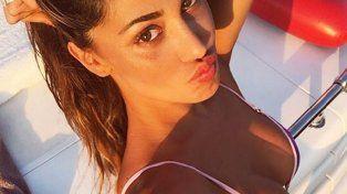 La joven argentina que hace suspirar a los italianos y enamora a los deportistas