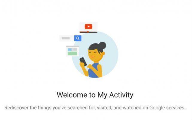 Todo lo que Google sabe de vos ahora se encuentra a un solo click de distancia