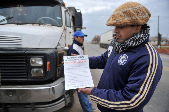 Protesta. Transportistas piden más de un 30% de aumento en los fletes.