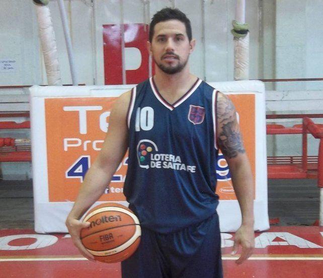 La base está. Damián Palacios fue una de las claves del equipo santafesino.