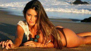 Vicky Saravia se luce en Ibiza.