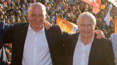 Bonfatti y el gobernador Miguel Lifschitz.