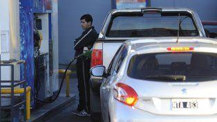Surtidores de combustible en Rosario.