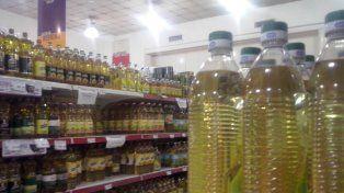 Los aceites comestibles más baratos aumentarán un 30 por ciento a partir del 1° de agosto