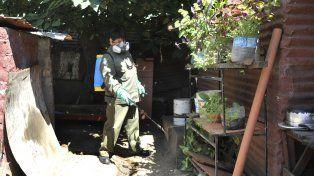 El descacharrado y limpieza de patios y jardines