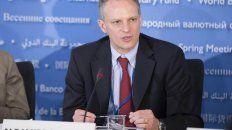 Negativo. Alejandro Werner, director del FMI para el Hemisferio Occidental.