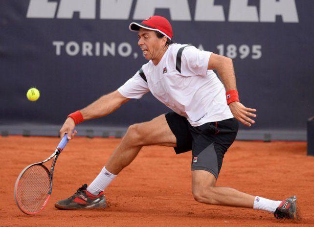 Firme. Berlocq dio otro paso en el torneo que se disputa en Croacia.