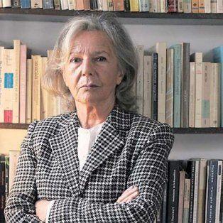 La ensayista Beatriz Sarlo.