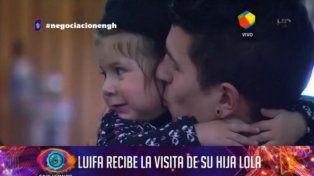 Luifa se reencontró con su hija Lola.